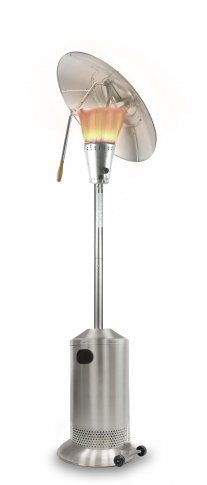 Patio Heater 13kW Stainless Steel