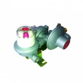 Propane 37mbar 2 cylinder auto changeover valve with OPSO