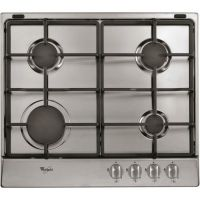 Whirlpool AKR311IX 60cm Four Burner Gas Hob Stainless Steel