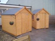 Classic Shed 10 x 8 Double Doors