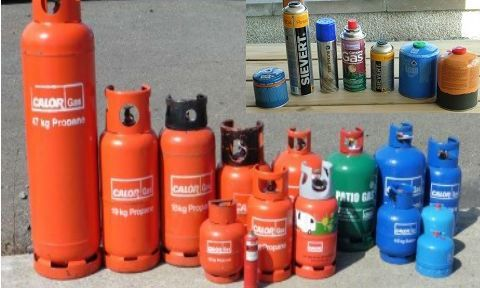 Gas Cylinders & Cartridges