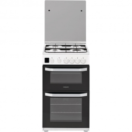 Hotpoint HD5G00CCW/UK 50cm White Cooker