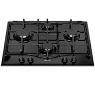 Hotpoint GC640TK 4 burner Black