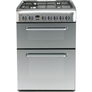 Indesit KDP60SES DUAL FUEL Cooker Stainless Steel