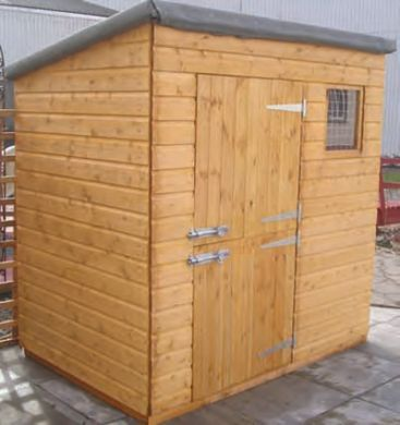 Classic Pent Shed Stable Doors 6 x4