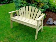 Athol Sunburst Bench 2 Seater