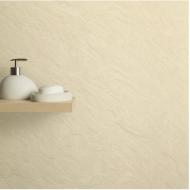 Max-Fit Beige Slate Matt PVC Shower Wall Panel (2400mm x 1000mm x 10mm)