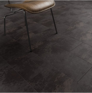 Clixeal Copper Slate tile effect click vinyl flooring. 1.48 square metres (8 tiles per box)