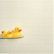 Cream Brick Wall Tile Panel (2420mm x 1220mm x 3mm)