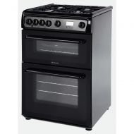 Hotpoint Newstyle HAG60K Cooker - Black