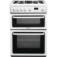 Hotpoint Newstyle HAG60P Cooker - White