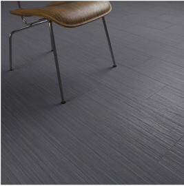 Clixeal Linear Grey tile effect click vinyl flooring. 1.48 square metres (8 tiles per box)