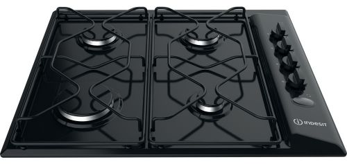 Indesit PAA 642 IBK Gas Hob in Black