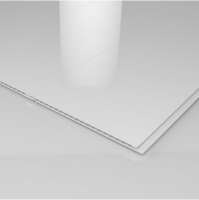 Ancona Single White Gloss Ceiling Panels (2700mm x 250mm x 8mm)